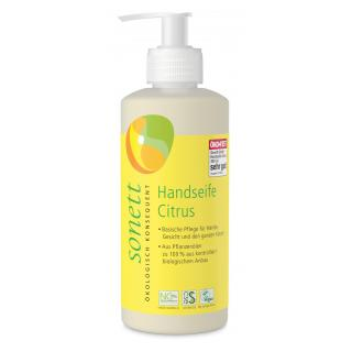 Handseife Citrus im Spender  300 ml