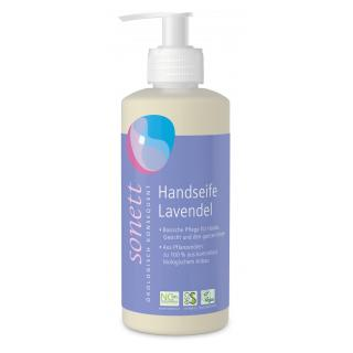 Handseife Lavendel im Spender 300 ml