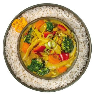 Bio Thai Curry mit Basmati Reis, 400 g